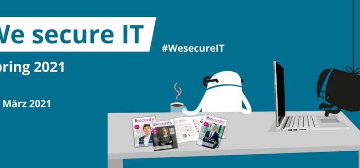 We secure IT (Webinar | Online)