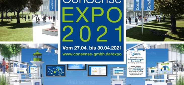 Virtuelle Messe ConSense EXPO 2021 (Messe | Online)