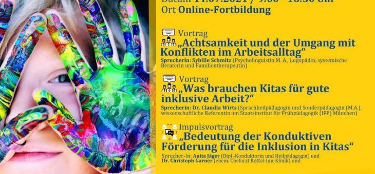 FortSchritt Online-Fachtag 2021 für Fachkräfte der Frühpädagogik (Seminar   Online)
