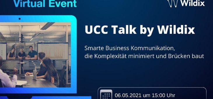UCC Talk by Wildix: Smarte Business Kommunikation, die Komplexität minimiert und Brücken baut (Vortrag   Online)