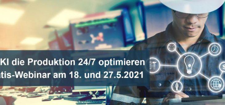 Mit KI die Produktion 24/7 optimieren – Gratis-Webinar zur Produktionsunterstützung (Webinar | Online)
