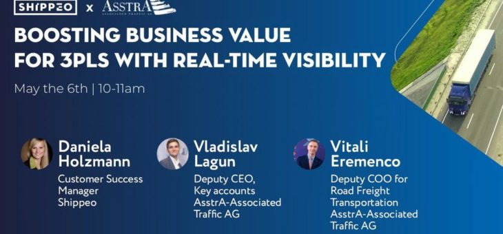 Boosting business value for 3PLs with real-time visibility (Webinar | Online)