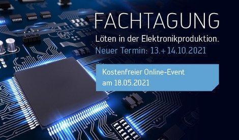 Löten in der Elektronikfertigung (Webinar   Online)