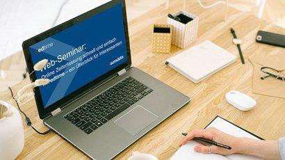 Online Zeiterfassung schnell und einfach mit edtime – ein Überblick für Interessenten (Webinar | Online)