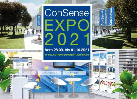 Virtuelle Messe ConSense EXPO: 28.09. bis 01.10.2021 (Messe   Online)