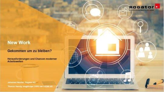 New Work: Gekommen um zu bleiben? Herausforderungen und Chancen moderner Arbeitswelten (Webinar | Online)